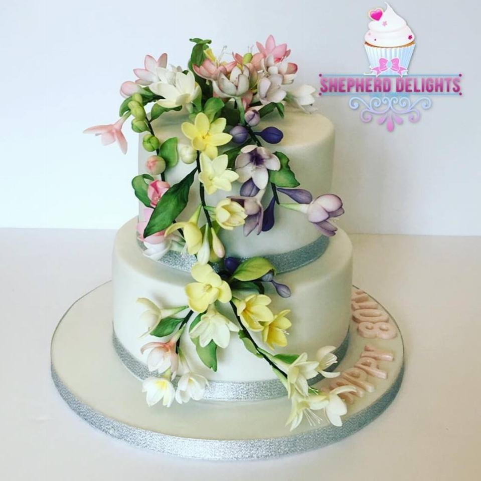 Tiered Wedding Cakes at Shepherd Delights, Berkshire, UK